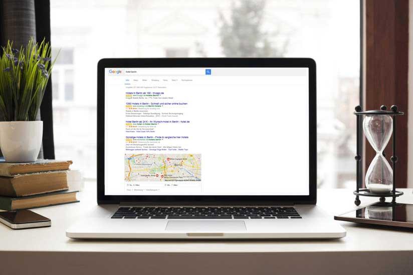 Anzeigenlayout Google