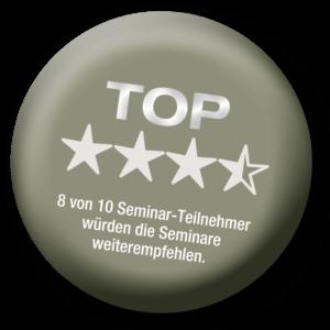 Button TOP Sterne klein