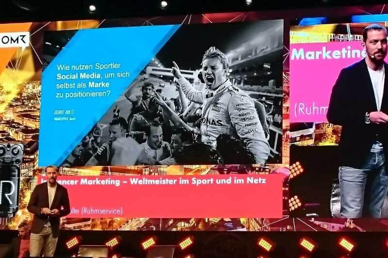 Nico Rosberg Social Media Marketing