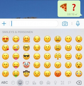 Emoji Marketing Pizza