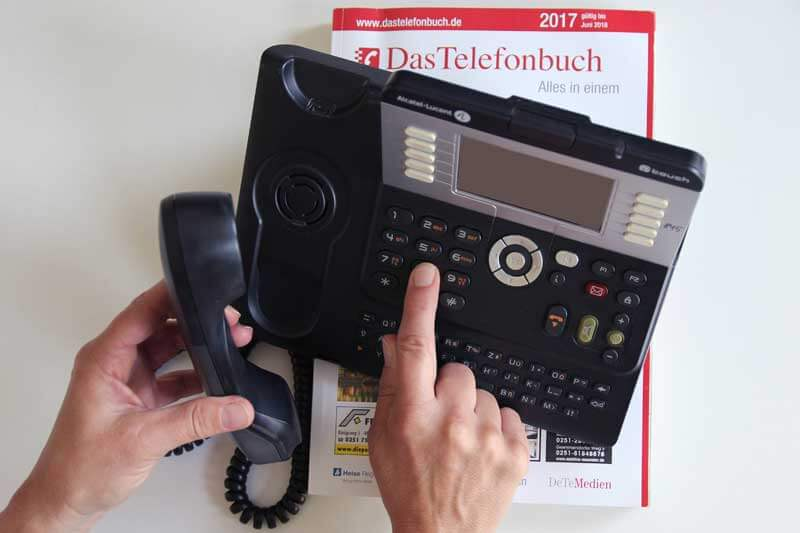 Telefonbucheintrag