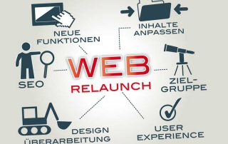 Websitrelaunch