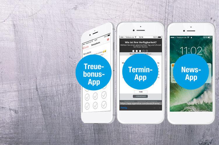 App Nutzung Heise Apps