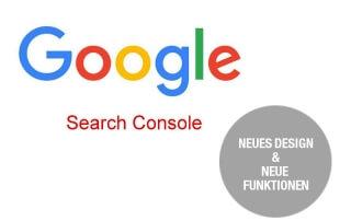 Neue Funktionen bei Google Search Console