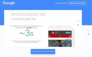 Screenshot Test my Site Quelle Google