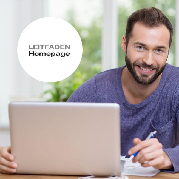 Homepage Leitfaden