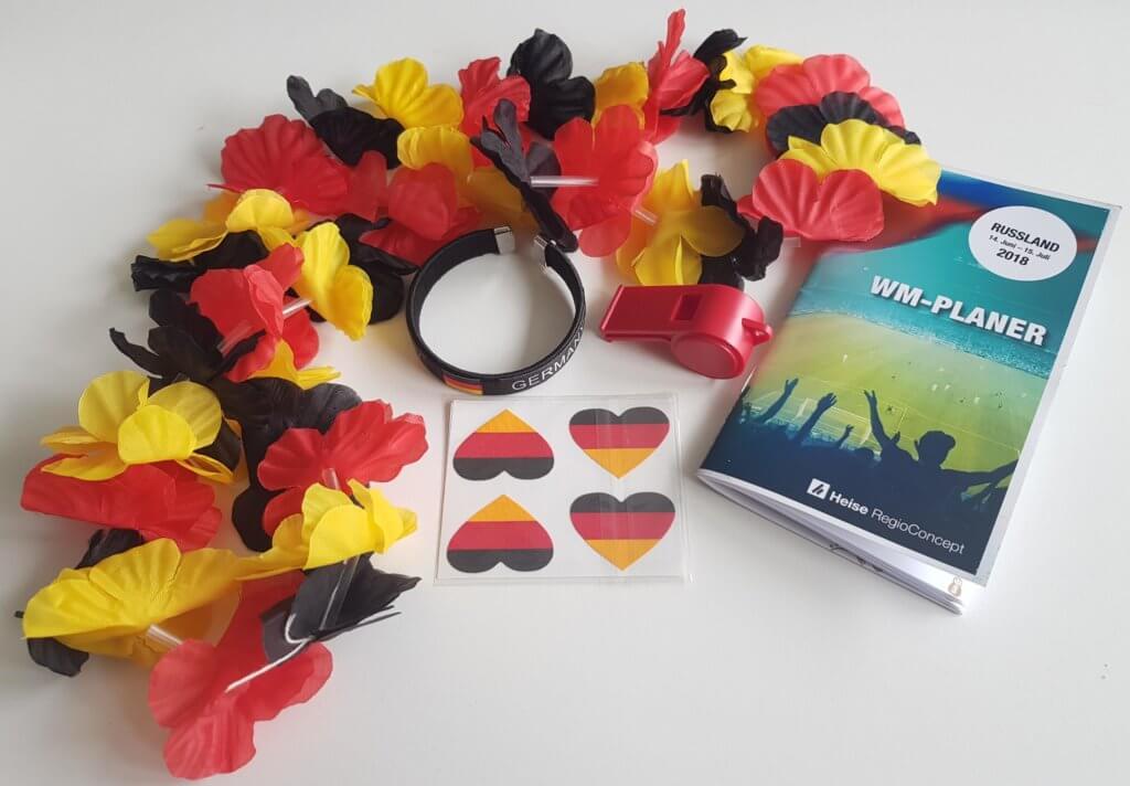 Auswahl WM-Merchandise