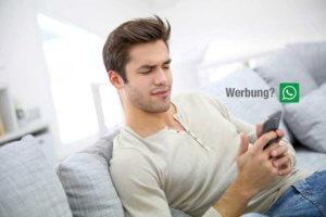 Werbung auf WhatsApp