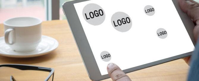 branding auf der website