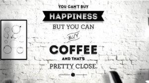 Screenshot der Kampagne für den Kaffee Black 'N White, Quelle: Tchibo