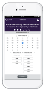 Terminbuchung App