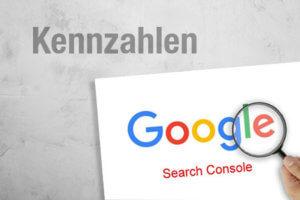 Google Search Kennzahlen