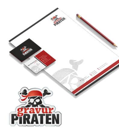 Corporate Design Beispiel Gavur Piraten, Bildquelle: designenlassen.de