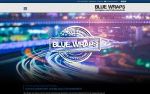 Blue Wraps Referenz Heise Homepages
