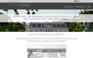 Kluin Patent Referenz Heise Homepages