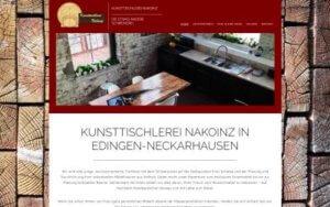 Kunsttischlerei Nakoinz Referenz Heise Homepages