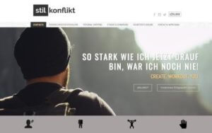 Stilkonflikt Referenz Heise Homepages
