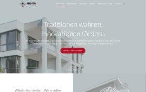 Wilhelm Architektur Referenz Heise Homepages