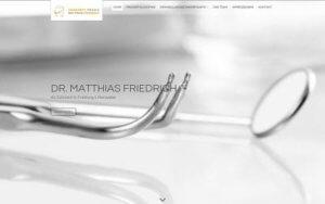 Zahnarzt Friedrich Homepage