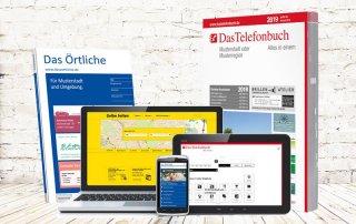 Das Örtliche, Das Telefonbuch, Gelbe Seiten
