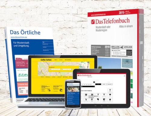 Warum Gewerbetreibende auf Das Örtliche, Das Telefonbuch und Gelbe Seiten setzen sollten