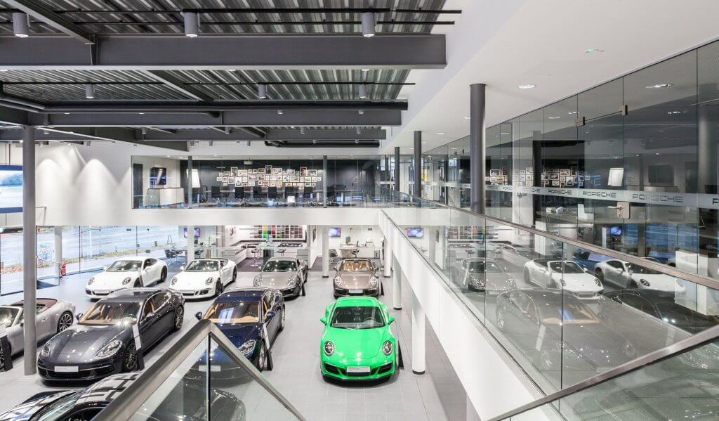 Businessfotos Porsche Zentrum Hamburg