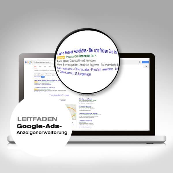 Google-Ads-Anzeigenerweiterungen Leitfaden Vorschaubild