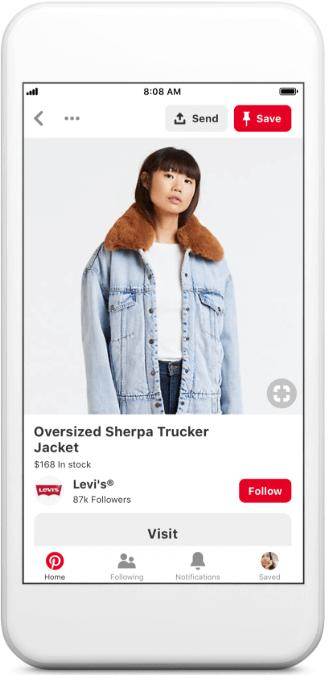 Pinterest Shop by Brand