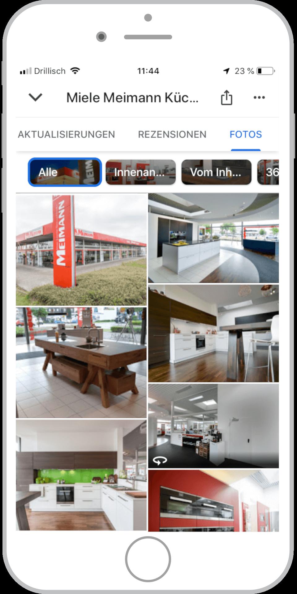 Bilder im Google My Business Eintrag