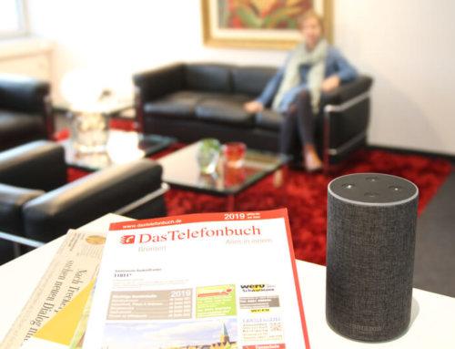 Alexa Skill für Bremen von Das Telefonbuch