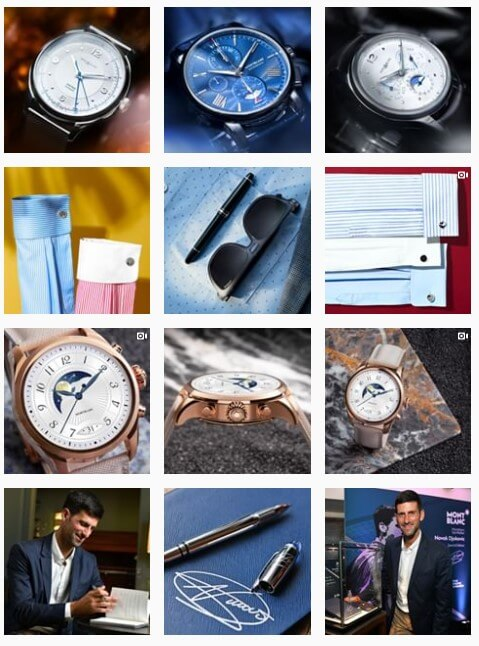 Instagram Feed Montblanc
