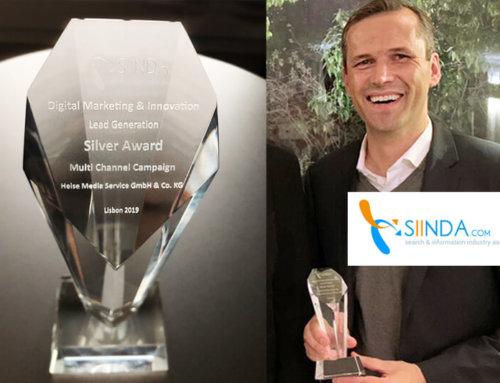 Silver Award: SIINDA-Auszeichnung für Heise RegioConcept