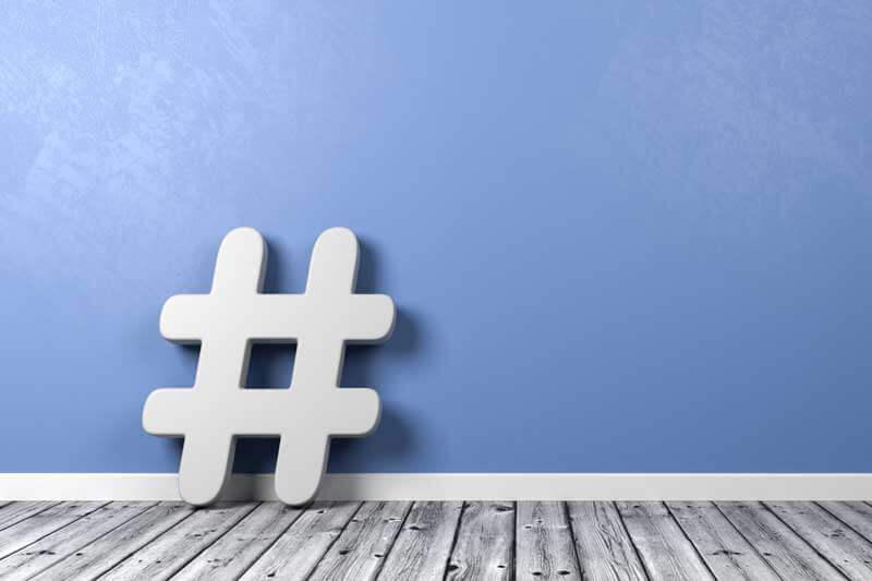 Hashtags finden