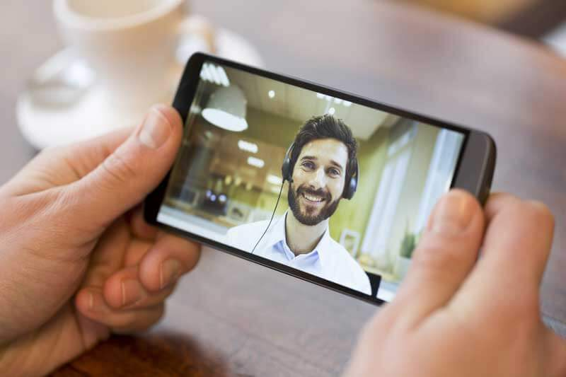 Kundenberatung per Live-Video-Chat