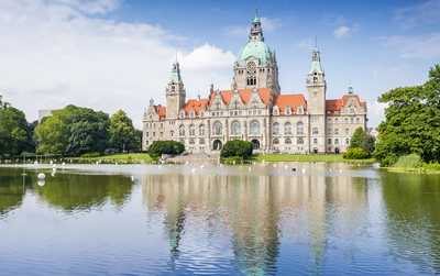 Bild vom Neuen Rathaus Hannover