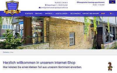 Online-Shop-Referenz Zinnfigurenmuseum Goslar