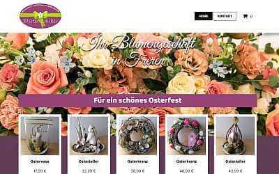 Online-Shop-Referenz Blumen Freren