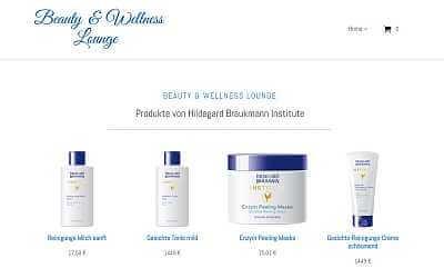 Online-Shop-Referenz Kosmetik Goslar