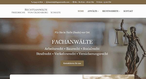 Heise Homepage Referenz klugeanwaelte