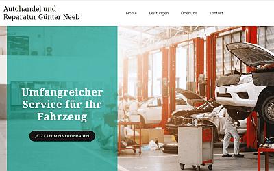 Heise Homepage Referenz Autohandel Neeb