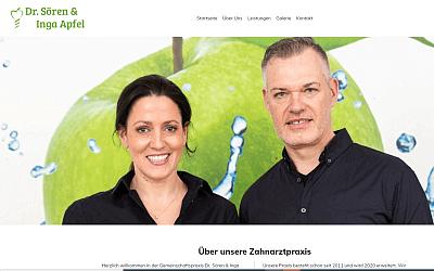 Heise Homepage Basic Referenz Zahnarzt Apfel