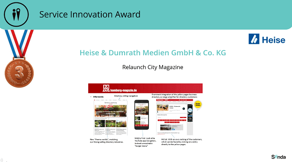 Service Innovaton Award Hamburg Magazin