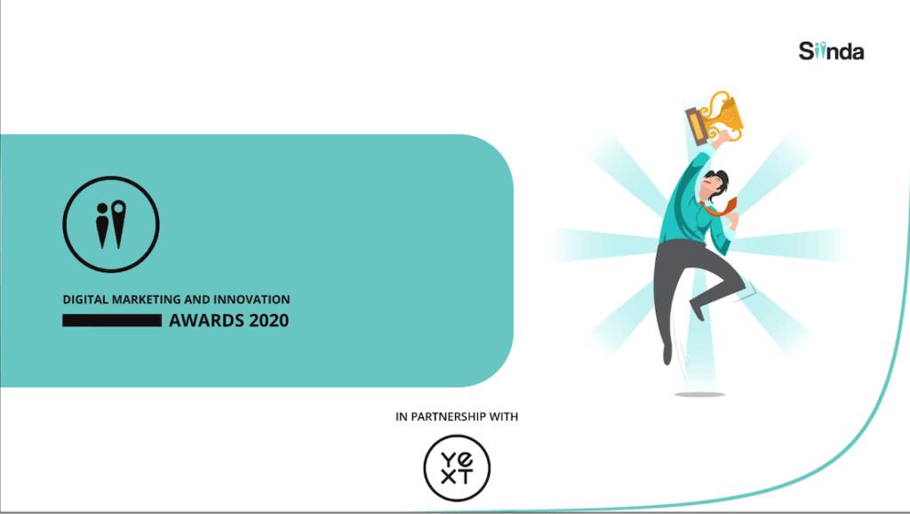 Siinda Digital Markteing and Innovation Awards 2020