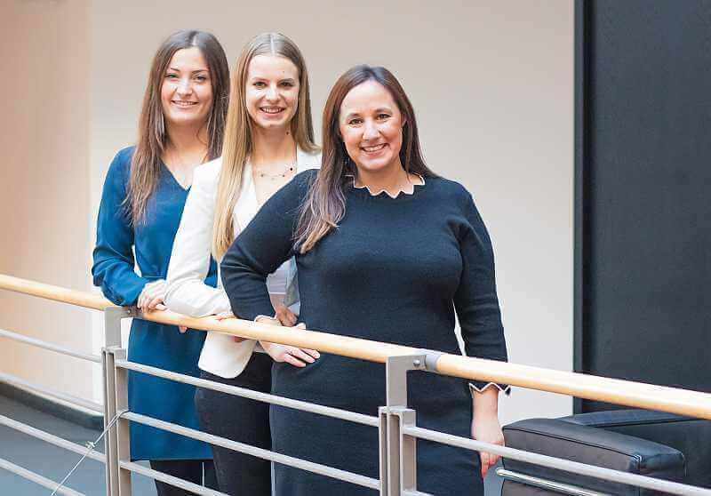 Kampagnenbetreuerinnen bei Heise RegioConcept