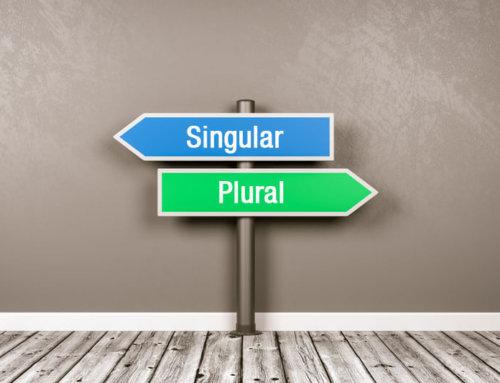Keywords optimieren: Singular oder Plural – was ist besser?