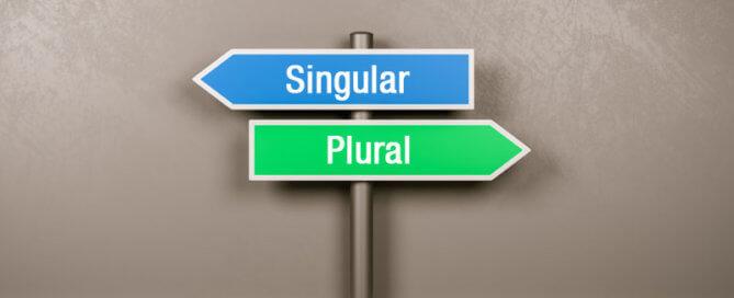 Keyword Singular oder Plural