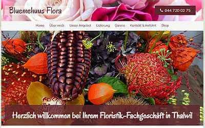 Online-Shop Referenz Bluemehuus Flora