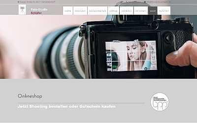 Online-Shop Referenz Foto-Studio Schäfer
