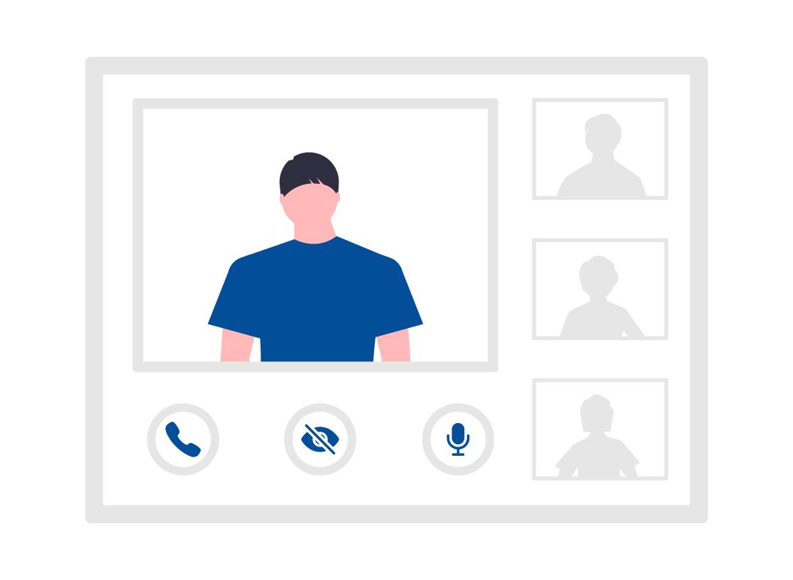 Online Marketing Webinar Video Call