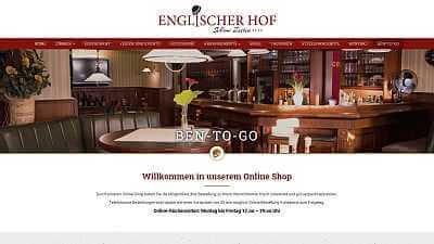 Online-Shop Referenz Hotel Englischer Hof
